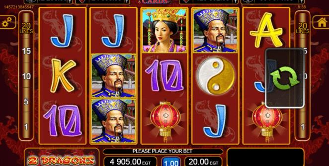 Jocul de cazino online 2 Dragons gratuit