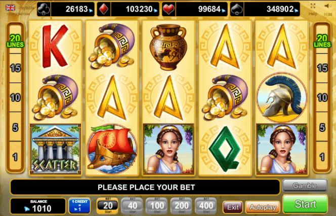 Slot machine gratis troy