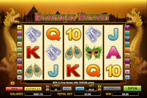 Bangkok Nights gratis este un joc ca la aparate online