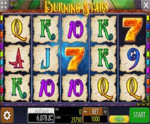 Jocuri Pacanele Burning Stars Online Gratis