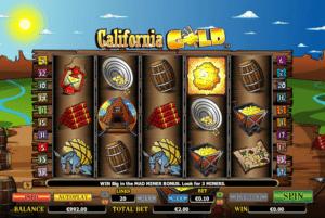 Joaca gratis pacanele California Gold online