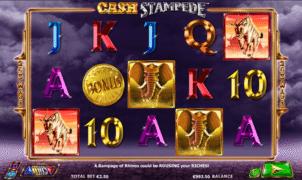 Cash Stampede gratis este un joc ca la aparate online