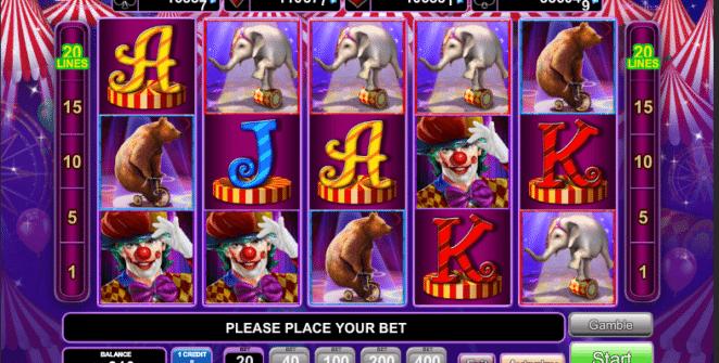 Jocul de cazino online Circus Briliant gratuit