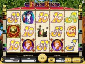 Jocul de cazino online Frog King gratuit