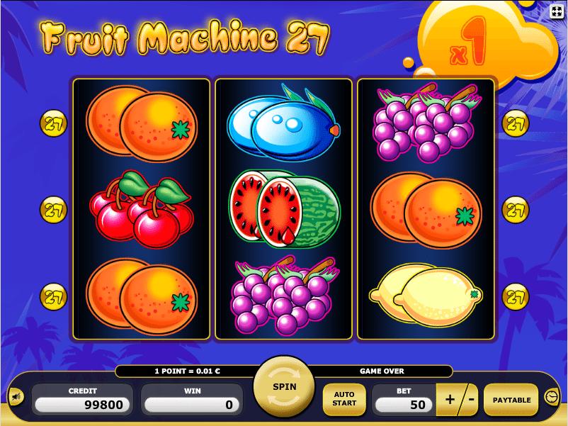 Poker fruit online