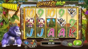 Jocul de cazino online Gorilla Go Wild este gratuit