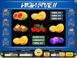 Joaca gratis pacanele High Five II online