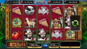 Joaca gratis pacanele Inca Gold II online