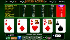 Jocuri Poker Joker Poker Online Gratis