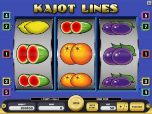 Jocul de cazino online Kajot Lines gratuit