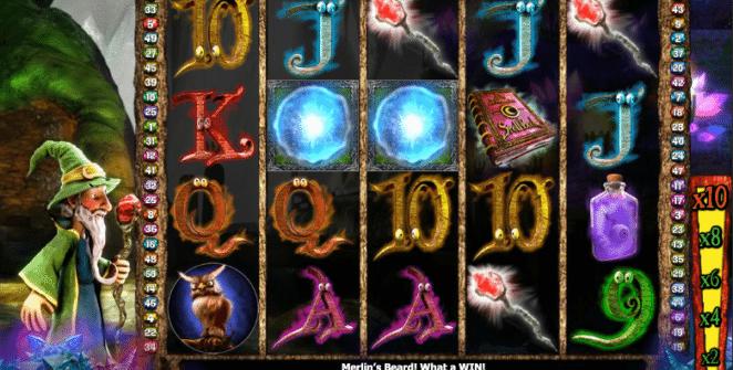 Merlins Millions gratis este un joc ca la aparate online