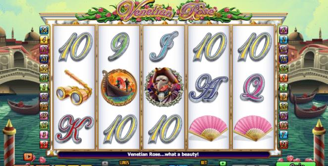 Jocul de cazino online Venetian Rose gratuit