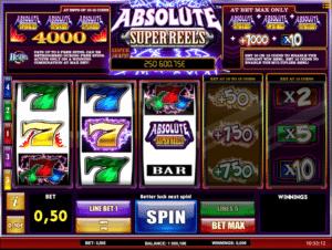 Joaca gratis pacanele Absolute Super Reels online