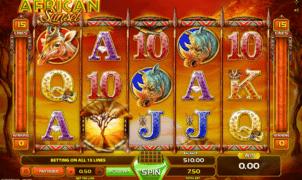 Jocul de cazino online African Sunset gratuit