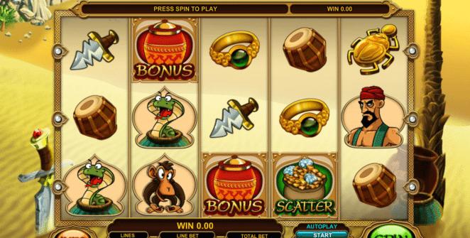 Ali Baba gratis joc ca la aparate online