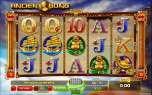 Joaca gratis pacanele Ancient Gong online