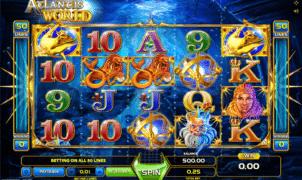 Atlantis World gratis joc ca la aparate online