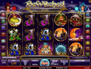 Jocul de cazino online Bewitched gratuit