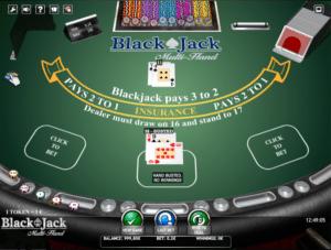 Jocul de cazino online BlackJack Multihand gratuit