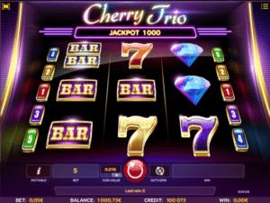 Joaca gratis pacanele Cherry Trio online