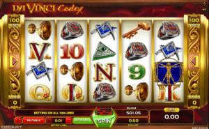 Jocul de cazino online Davinci Codex gratuit