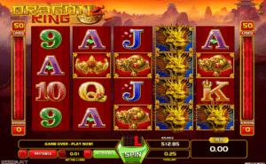 Joaca gratis pacanele Dragon King online