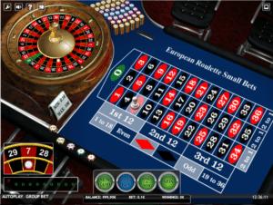 Jocul de cazino European Roulette Small Bets iSoft online gratuit