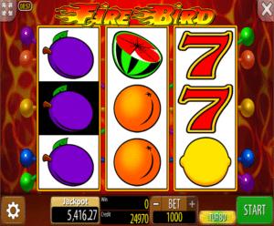 Joaca gratis pacanele Fire Bird online