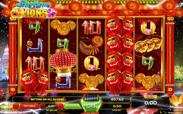 Slot machine gratis lions