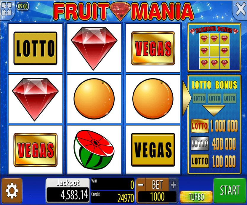 Fruits Mania Gratis