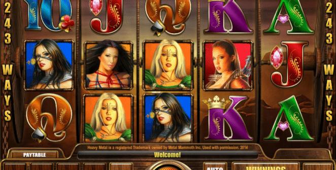 Jocul de cazino online Heavy Metal:Warriors gratuit