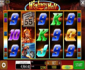 Joaca gratis pacanele Highway to Hell online