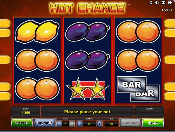 Jocul de cazino online Hot Chance gratuit
