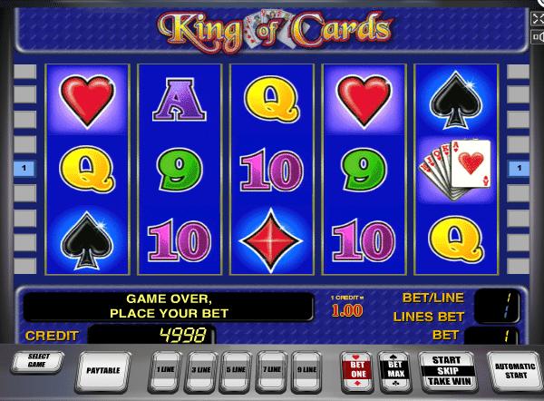 king of cards slot gratis de casino