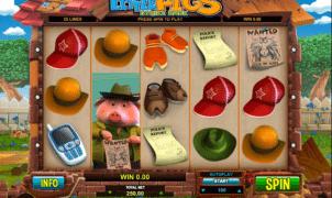 Joaca gratis pacanele Little Pigs online