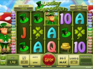 Joaca gratis pacanele Lucky Leprechaun iSoft online
