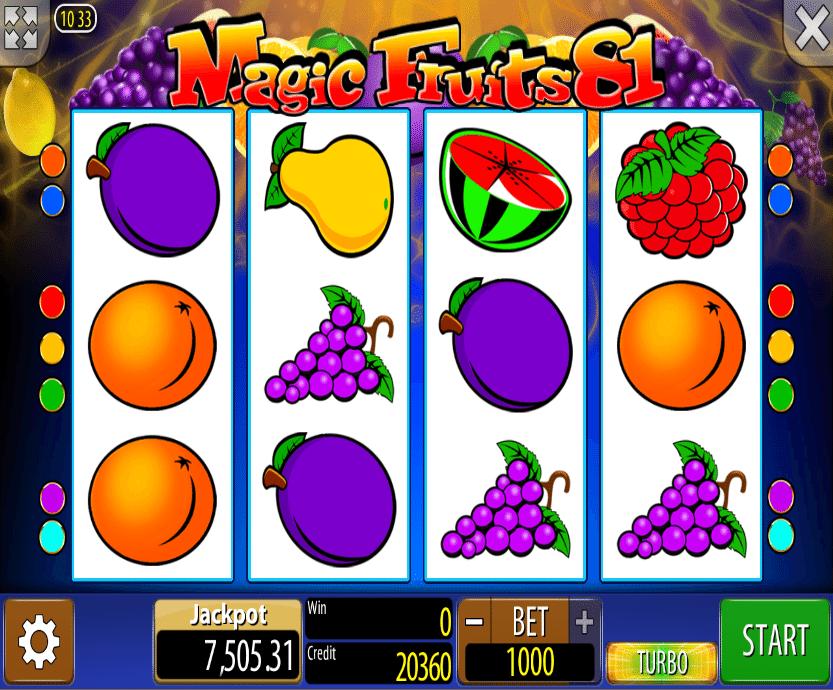 Slot machine 81