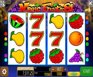 Jocuri Pacanele Magic Fruits 81 Online Gratis