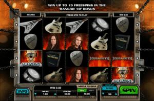 Joaca gratis pacanele Megadeth online