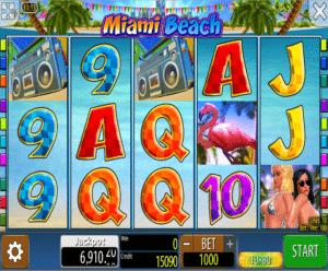 Joaca gratis pacanele Miami Beach online