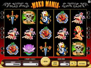 Joaca gratis pacanele Moko Mania online