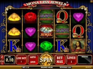 Joaca gratis pacanele Mona Lisa Jewels online