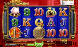 Joaca gratis pacanele More Cash online