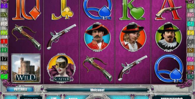 Musketeer Slot gratis joc ca la aparate online