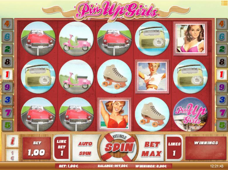 Slot machine gratis pin up