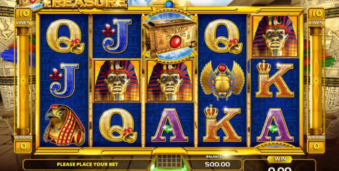 Jocul de cazino online Ramses Treasure gratuit