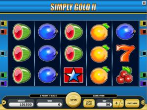 Joaca gratis pacanele Simply Gold II online