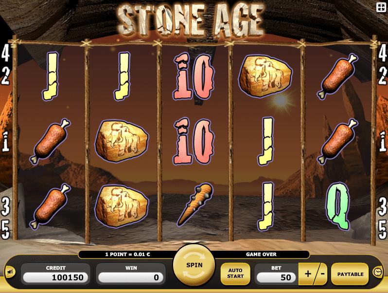 Jocul de cazino online Stone Age gratuit