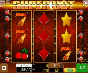 Joaca gratis pacanele Super Hot online