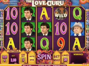 Joaca gratis pacanele The Love Guru online